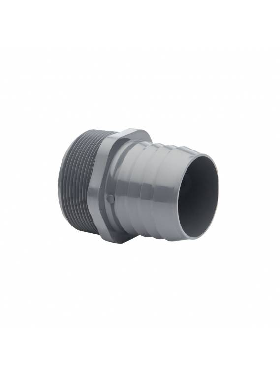 PVC HOSE ADAPTER (MNPT x HOSE INSERT)