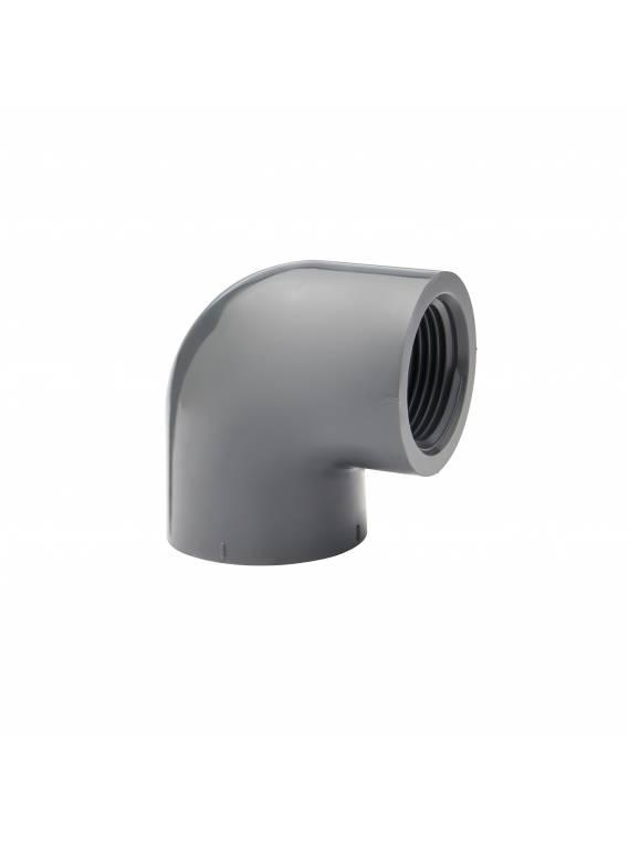 PVC SCH80 90* ELBOW (FPT x FPT)